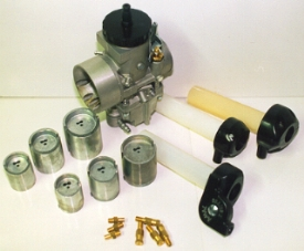 Amal carburettor parts and twist grips